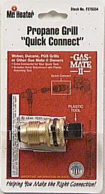 as Grill Quick Connect Adapter #F276334 (Gas Mate)