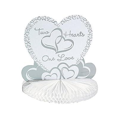 Two Hearts Wedding Centerpiece