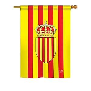 """Cataluña grande bandera 28""""X 40"""""""