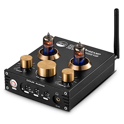 Douk Audio P1 Bluetooth 5.0 Vacuümbuis voorversterker Hi-Fi Valve Headphone Amplifier Wireless Receiver Audio Decoder…