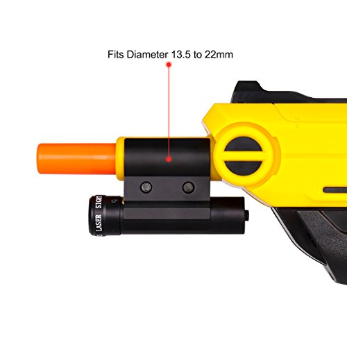 LIRISY Bug & A Salt Gun Laser Sight   Aiming Scope Fits 2.0, All Versions of Fly and Insect Eradication Shotgun   Airsoft BB Pump Spring Assault Rifles Accessories by LIRISY (Image #2)