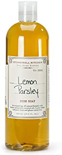 product image for Stonewall Kitchen Lemon Parsley Dish Soap, 17.6 Ounce