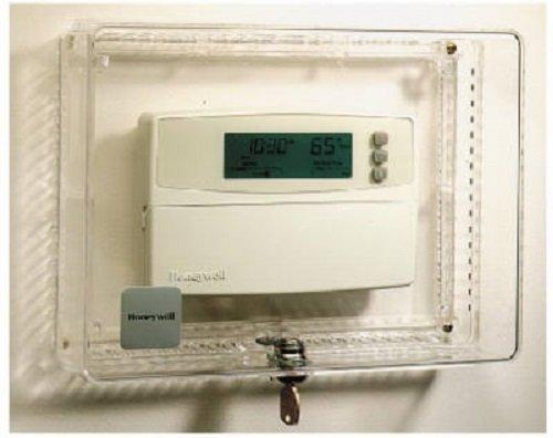 Quantity 9 Honeywell CG512A 1009 Keyed Alike Locking Thermostat Cover