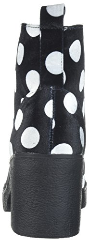 US Black Tilde whte Boot Betsey by Johnson Women's Blue 6 M Whte Black qwCaCOxPv