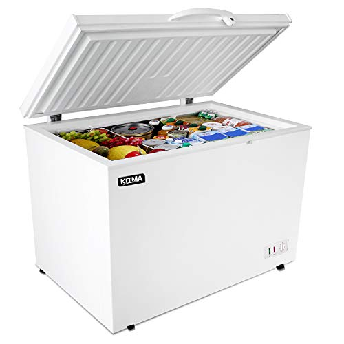 Commercial Top Chest Freezer - Kitma 15.9 Cu. Ft