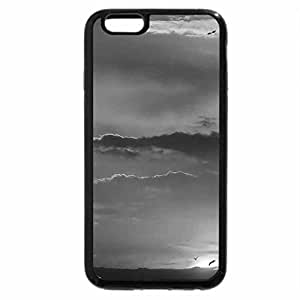 iPhone 6S Case, iPhone 6 Case (Black & White) - sentimental garden