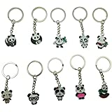 Super Cute Panda Pendant Keychain - 10 Different Shapes