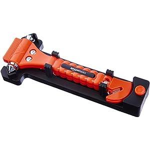 Emergency Seat Belt Cutter and Window Hammer