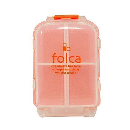 Folca Compact Pill Case, Orange - 8 - Bag De Ano Scout