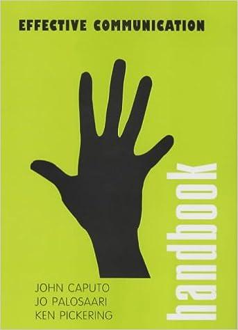 Effective Communication (Handbook): Amazon co uk: John