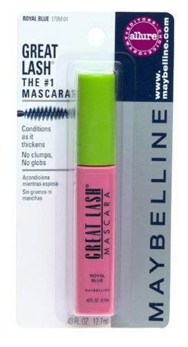 c0c35c521bc Amazon.com : Maybelline Great Lash Mascara, Royal Blue (6 Mascaras) : Beauty