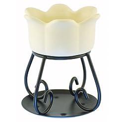 Yankee Candle Cream Petal Wax Burner