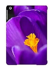 Cute High Quality Ipad Air Purple Crocus Case Provided By Resignmjwj
