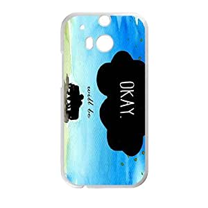 Maybe Okay? Bestselling Creative Stylish High Quality Hard Case For HTC M8