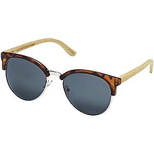 Blue Planet Eyewear Marin Sunglasses - Women's Matte Amber Tortoise/Silver, One Size