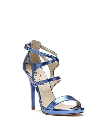 PoiLei Riemchen Sandaletten Chiara blau