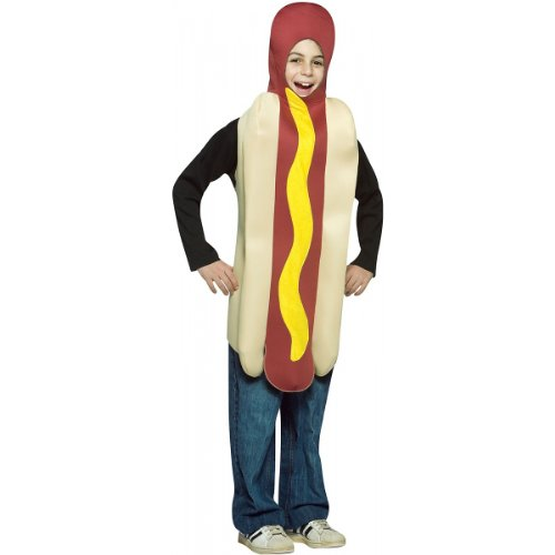 Hot Dog Costume - Medium -