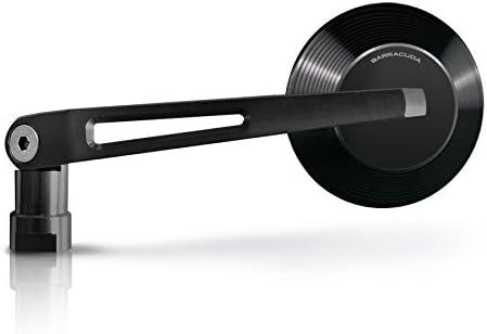 Coppia Specchietti Retrovisori Omologati Barracuda-X-Version Alux negros
