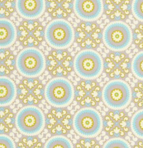 Dena Designs DF101 Kumari Garden Tara Stone Fabric By Yard