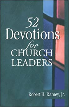 Book 52 Devotions for Church Leaders