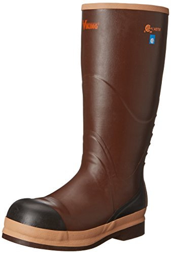 Viking Footwear Safety Boot - Brown - 14 D(M) US