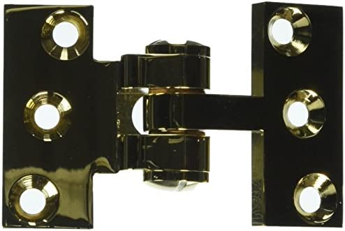 Deltana SBIH2510CR003 Solid Brass Intermediate Hinge Use with Pivot Hinge for Large Doors Top Notch Distributors Inc. Home Improvement