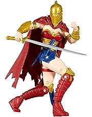 McFarlane Toys - DC Multiverse - Last Knight on Earth: Wonder Woman with Helmet of Faith, Multicolor (15175)