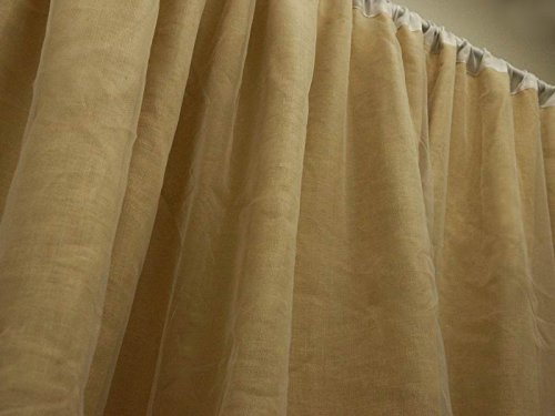 Efavormart 20ft x 10ft Fine Rustic Burlap Party Wedding Backdrop,Photography Background Natural Tone by Efavormart