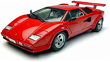 Autoart Die Cast Model Lamborghini Countach 5000s 1 18 Scale Amazon Co Uk Toys Games