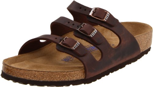 (Birkenstock Women's Florida Soft Footbed Sandal, Habana Waxy Leather, 38 M EU/ 7-7.5 M US)