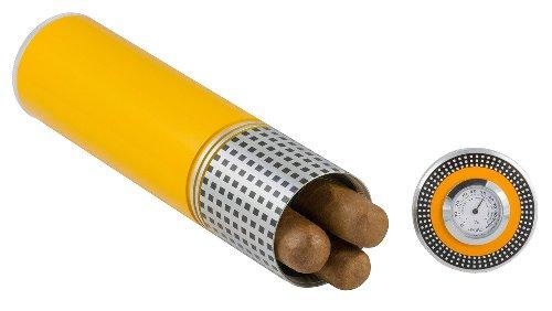 Metal Cigar Case (Visol Products VCASE451 Bayard Travel Cigar Humidor Case)