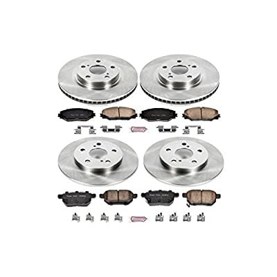 Autospecialty KOE4142 1-Click OE Replacement Brake Kit: Automotive