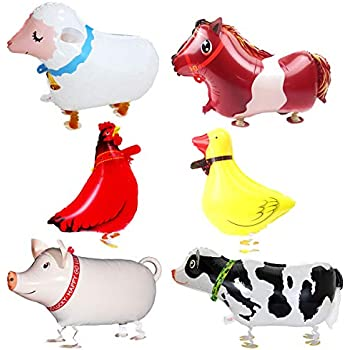 "Horse 41/"" Balloon Birthday Party Decorations Farm Animals"