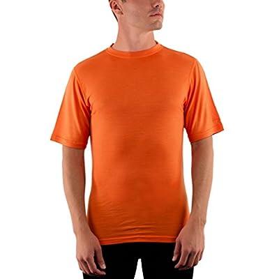 Woolx Men's Merino Wool T-Shirt - Lightweight - No Odor - Wicks Away Moisture