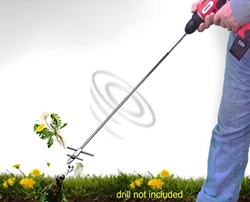 WeedNtill WT-1 Weeding and Tilling Tool (Easy Gravel Patio)