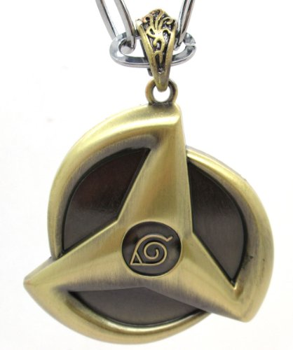Naruto Kakashi Sharingan Necklace,A Great Gift for Naruto Fans,With Tanboo Card And Annagle Necklace