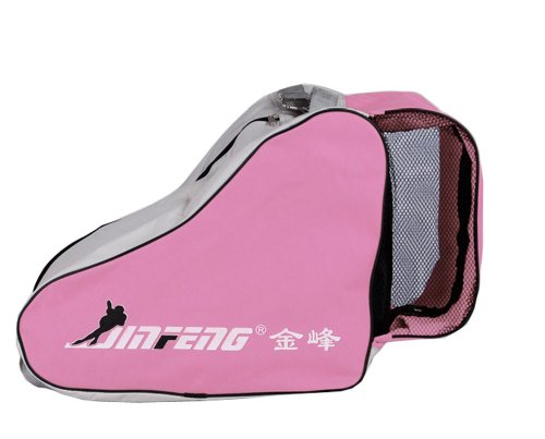 Panda Superstore Rollerblading Gear Triangle Skates Bag With Advanced Single Shoulder Pink by Panda Superstore