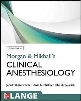 Morgan Anesthesia Pdf