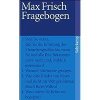 Fragebogen (suhrkamp taschenbuch, Band 2952)