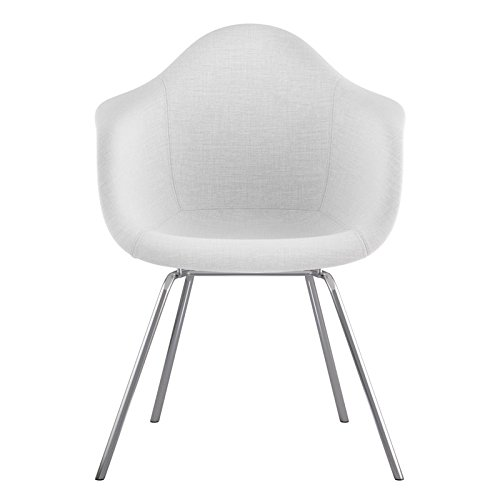 NyeKoncept 332007CL1 Mid Century Classroom Arm Chair, Glacier White from NyeKoncept