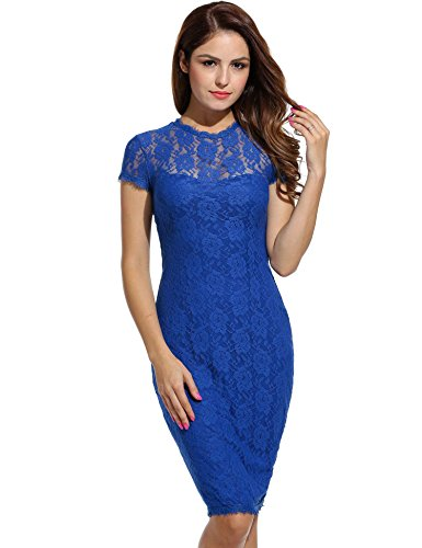 ANGVNS Bodycon Backless Cocktail Dresses