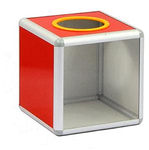(FUPUONE) イベント用 抽選箱 投票ボックス つかみ取り 投票箱 くじ引き 中が見える (20cm)