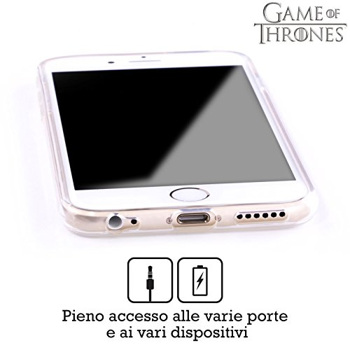 Officiel HBO Game Of Thrones Or Martell Symboles Étui Coque en Gel molle pour Apple iPhone 6 / 6s