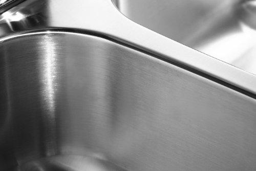 Houzer MGT-4120-1 Medallion Gourmet Series Undermount Stainless Steel Triple Bowl Kitchen Sink by HOUZER (Image #3)