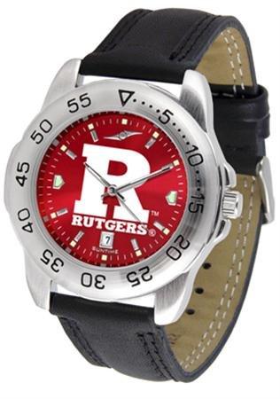 Linkswalker Mens Rutgers Scarlet Knights Sport Anochrome Watch ()
