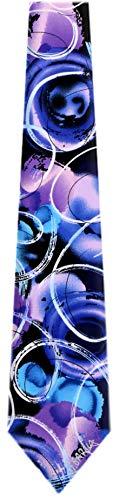 JG-XL-6201 - Jerry Garcia Extra Long Polyester XL Big and Tall Designer Necktie Ties (Jerry Garcia Extra Long Ties)