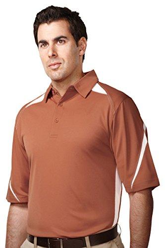 Tri-Mountain Men's Performance Polyester Birdseye Mesh Polo - Tri Clothing Sale