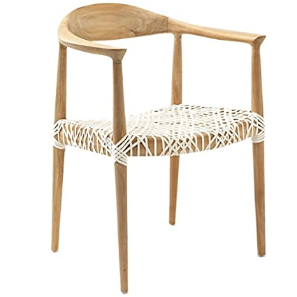 Ordinaire Safavieh Home Collection Wade Light Oak Teak Wood Arm Chair