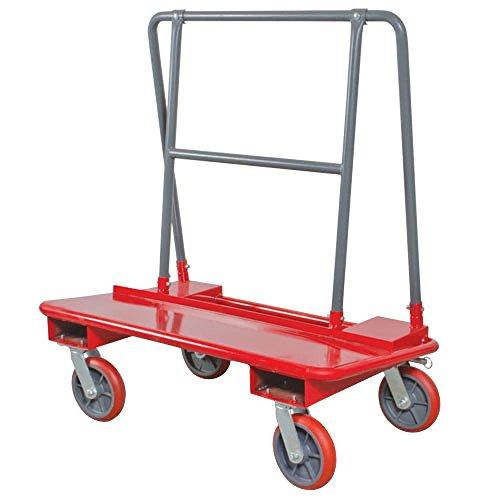 Metaltech I I-BMD3031R I Drywall Cart with 3000 Lb. Load Capacity