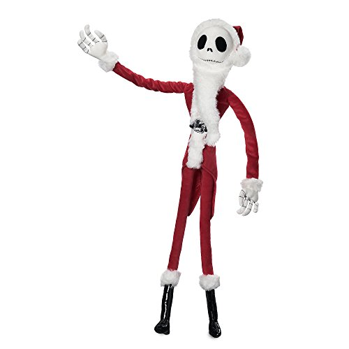 Disney Jack Skellington Sandy Claws Plush - Tim Burton's The Nightmare Before Christmas - Medium - 27'']()